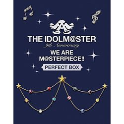"THE IDOLM@STER 9th ANNIVERSARY WE ARE M@STERPIECE!! Blu-ray ""PERFECT BOX"" �y���S���Y����z �yBD�z"
