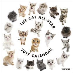 THE CAT ALL-STAR 2017年カレンダー [CL-1102]