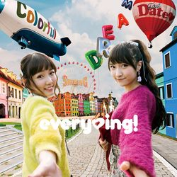 everying!  / 1stアルバム Colorful Shining Dream First Date(ハート) 【初回限定盤】 【CD+DVD】 ※キャラアニ特典付き