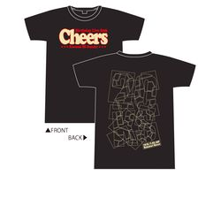 Cheers Tシャツ チョコケーキver. M