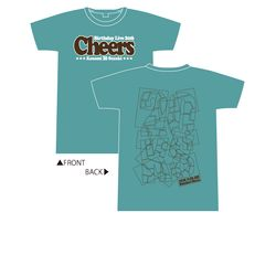 Cheers Tシャツ チョコミントver. M