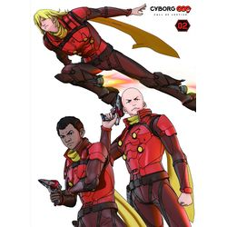 CYBORG009 CALL OF JUSTICE 第2章 【BD】