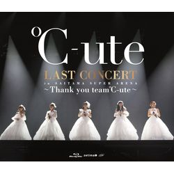 ℃-ute ラストコンサート in さいたまスーパーアリーナ 〜Thank you team℃-ute〜 【通常盤】 【BD】