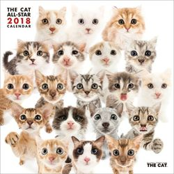 THE CAT ALL-STAR 2018年 カレンダー [CL-1102]