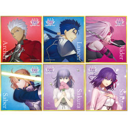 劇場版 Fate/stay night[Heaven's Feel] TRミニ色紙vol.1 【1BOX】
