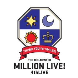 THE IDOLM@STER MILLION LIVE! 4thLIVE TH@NK YOU for SMILE! LIVE Blu-ray COMPLETE THE@TER 【BD】 ※メーカー特典付き