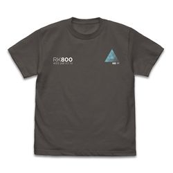 DETROIT become human RK800 Tシャツ CHARCOAL M 【2018年11月出荷予定分】