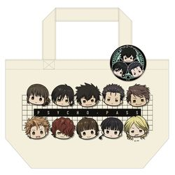 PSYCHO-PASS サイコパス Sinners of the System 缶バッジ付トートバッグ