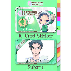 BROTHERS CONFLICT ICカードステッカー けもみみ昴