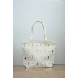 LiccA totebag 'grand' white