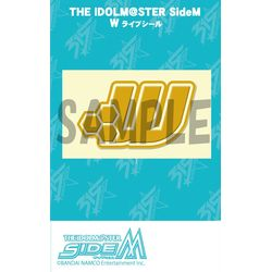THE IDOLM@STER SideM ライブシール W