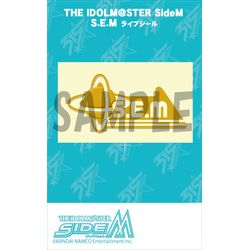 THE IDOLM@STER SideM ライブシール S.E.M