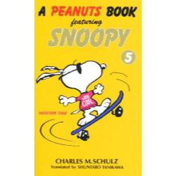A peanuts book featuring Snoopy 5