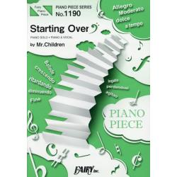 Starting Over [FAIRY PIANO PIECE No.1190]