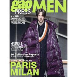 gap PRESS MEN vol.44(2016-2017Autumn & Winter) [gap PRESS COLLECTIONS]