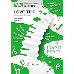 楽譜 LOVE TRIP AKB48 [PIANO PIECE SERI1308]