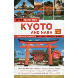 TUTTLE TRAVEL PACK KYOTO AND NARA GUIDE + MAP