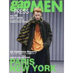 gap PRESS MEN vol.49(2017-2018Autumn & Winter) [gap PRESS COLLECTIONS]
