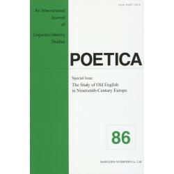 POETICA An International Journal of Linguistic‐Literary Studies 86