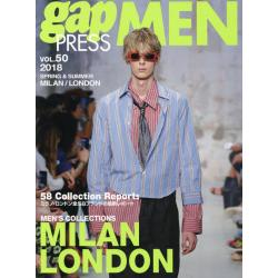gap PRESS MEN vol.50(2018Spring & Summer) [gap PRESS COLLECTIONS]