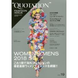 QUOTATION FASHION ISSUE vol.19