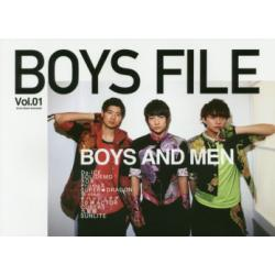 BOYS FILE BOYS GROUP MAGAZINE Vol.01