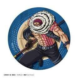 ONE PIECE BIG缶バッジ カタクリ 【2018年8月出荷予定分】