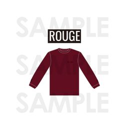 LONG SLEEVE T-SHIRTS ROUGE