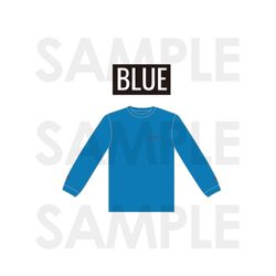 LONG SLEEVE T-SHIRTS BLUE