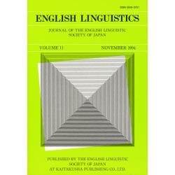 Linguistics vol.11 [English]