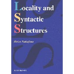 Locality and syntactic structures
