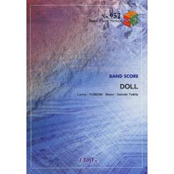 楽譜 DOLL SCANDAL [BAND PIECE SERIE 952]