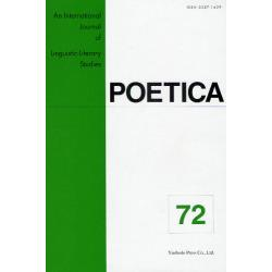 POETICA An International Journal of Linguistic-Literary Studies 72