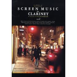 SCREEN MUSIC for CLARINETクラリネットのための映画音楽 Selected by The Clarinet vol.2