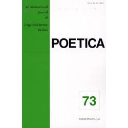 POETICA An International Journal of Linguistic‐Literary Studies 73