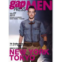 gap PRESS MEN vol.27(2012Spring & Summer) [gap PRESS COLLECTIONS]