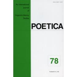 POETICA An International Journal of Linguistic‐Literary Studies 78