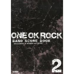 ONE OK ROCK・BAND SCORE BOOK INCLUDING 15 WORDS and MUSIC 2