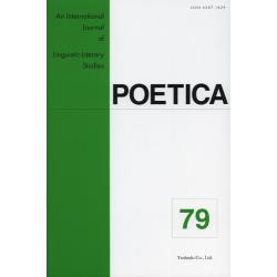 POETICA An International Journal of Linguistic‐Literary Studies 79
