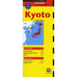Travel Maps Kyoto 4版 [ASIA'S SELLING MAP 1]