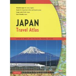 Japan Travel Atlas JAPAN'S MOST UP-TO-DATE TRAVEL ATLAS