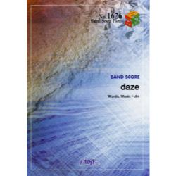 daze [BAND SCORE PIECE No.1626]