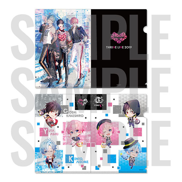 B-PROJECT クリアファイル2枚セット THRIVE LIVE ver.